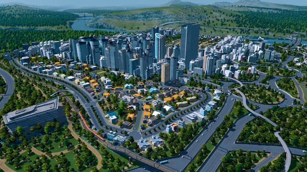 Example of a developed city